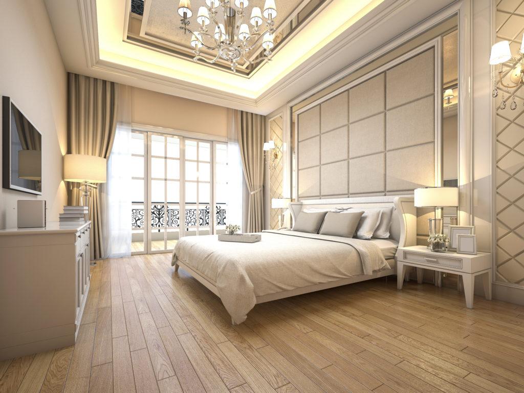 Chambre Matelas Au Sol une décoration de luxe pour la chambre à coucher – guide deco